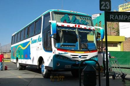peru-Canyon Cotahuasi arequipa gare routiere bus