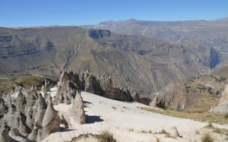 peru-Canyon Cotahuasi Bosque de Piedras