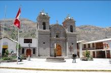 Peru-Canyon Cotahuasi Cotahuasi eglise place