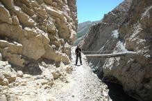 peru-Canyon Cotahuasi pont precaire
