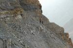 peru-Canyon Cotahuasi sentier dans pierriers