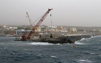 Santo Antao Porto-Novo construction du Maule
