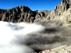 Peru volcan ubinas caldeira fumante de soufre