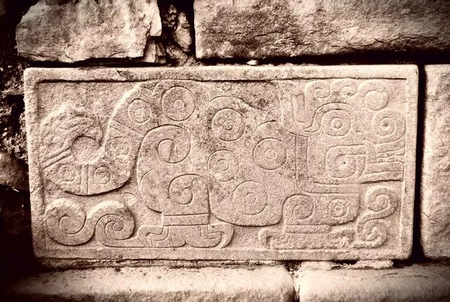 El Jaguar Frisa del Templo Viejo