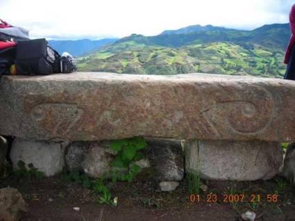 figura 01 Pacopampa Piedra tallada en San Pedro
