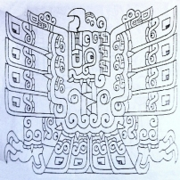 figura 12 Losa Aguila dessin