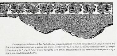 figura 15 Frisa Falconidas de la Portada dessin