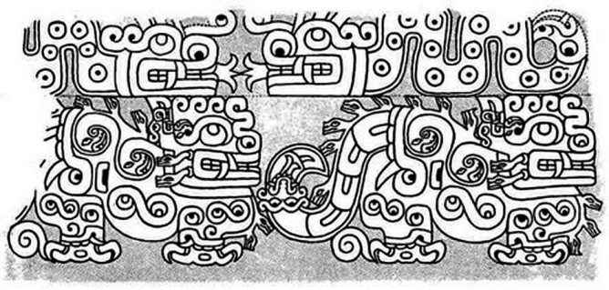 figura 17 Frisa Jaguar dessin