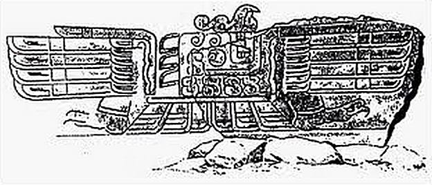 figura 31 Estela del condor dessin