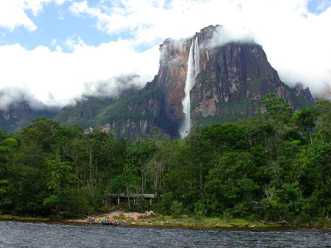 Venezuela Canaima Angel Falls