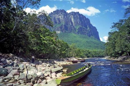 Venezuela Canaima remontee