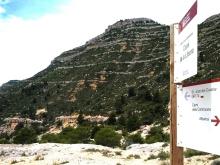 2014-07-12 Ruta dels Refugis (103) Albarca Second Coll Panneau