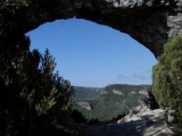 2014-07-12 Ruta dels Refugis (39) Roca Forada