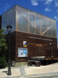2014-07-12 Ruta dels Refugis (58) Capafonts Centre info touristique fermé