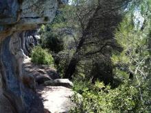 2014-07-12 Ruta dels Refugis (8)) Montée Mussara equilibre