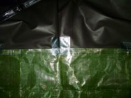Bivi Sack Makake 3 cuvette 2 collage et renfort
