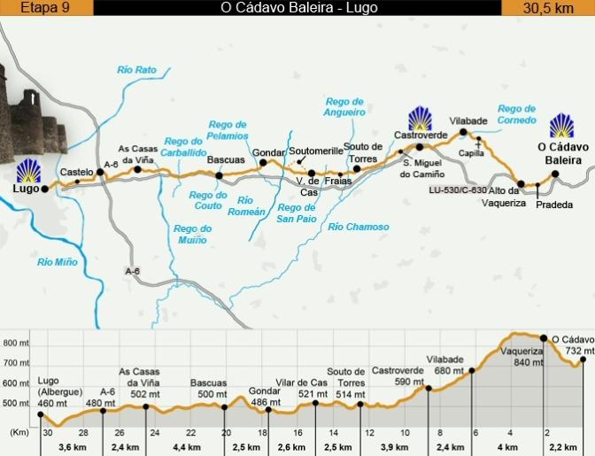 Camino Primitivo Etapa 9