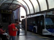 Camino Primitivo Mayake 01 santander gare routiere entree