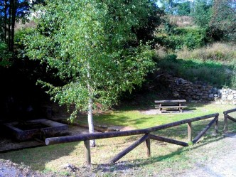 Camino Primitivo Mayake 21 Villazon fontaine
