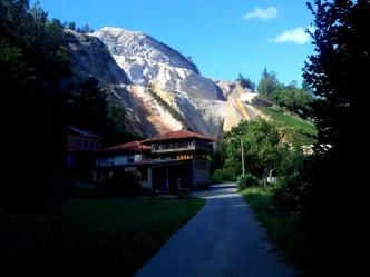 Camino Primitivo Mayake 22 Villazon carrieres