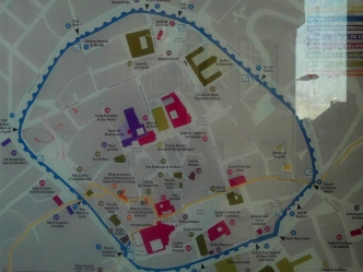 Camino Primitivo Mayake 78 Lugo plan