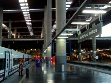 Camino Primitivo Mayake 86 Puerta de Atocha niveau bas quai