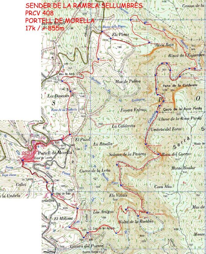 Els Ports mapa_ign_prcv_408