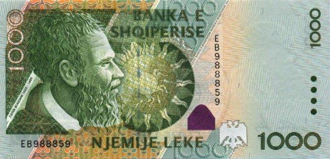 albanie Lek 1000