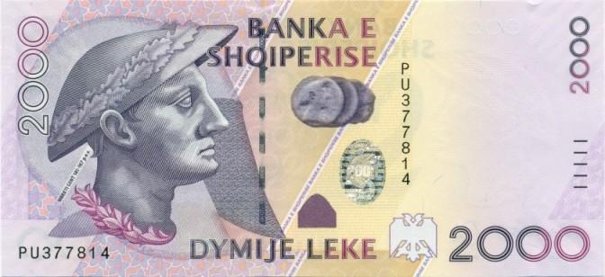 albanie Lek 2000