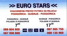 Carte Bus Eurostar Podgorica
