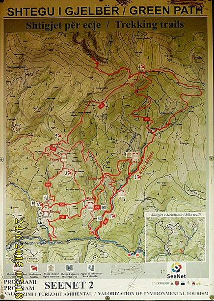 IMG_1162 carte Rugova sentiers pour éviter Drelaj