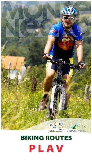 Montenegro Biking Plav Brosura