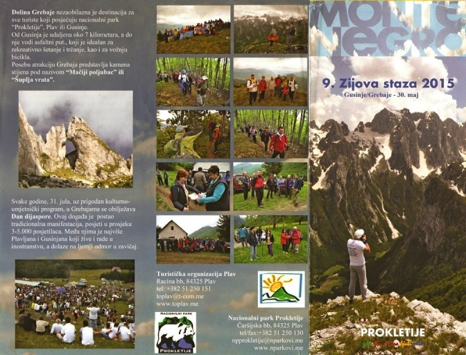 Montenegro leaflet recto