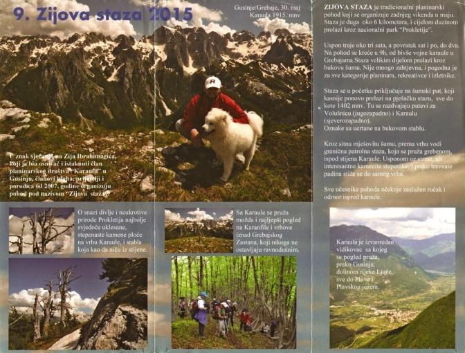 Montenegro leaflet verso