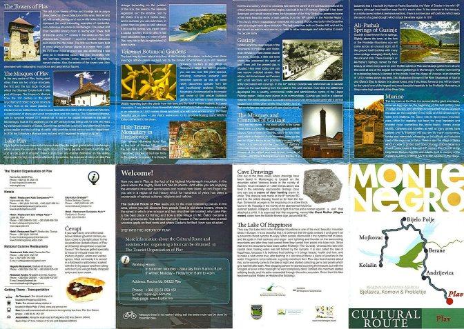 Montenegro leaflet