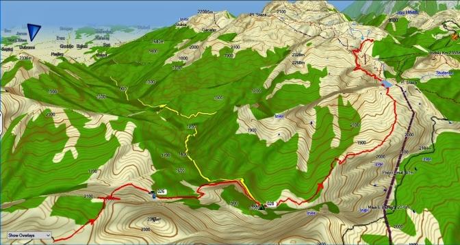 du plateau de Lumbardhit à Milicevic puis Doberol