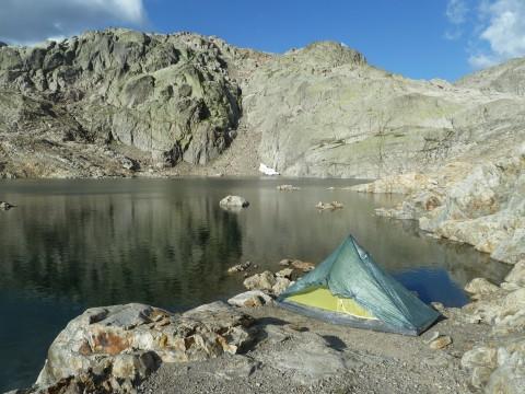 TMB 7 Bivouac Lac Noir