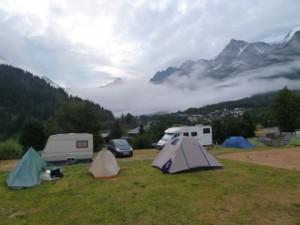 TMB 8 Camping Les Houches